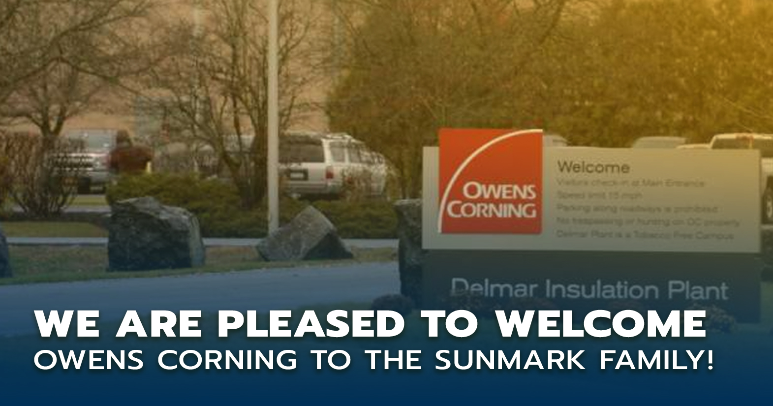 Welcome Owens Corning members!